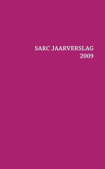 SARC JAARVERSLAG 2009 - Cultuur, Jeugd, Sport en Media