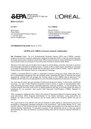 2012 Epa loreal joint press release