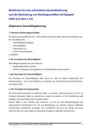 Richtlinien der Kontrollkommission - Die Österreichische ...