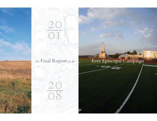 Ever Episcopal Campaign The Final Reporton the