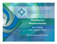 Ventilation Requirements - Health in Wales