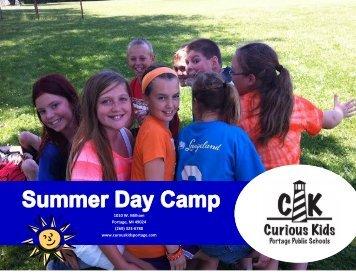 Curious Kids camps - Portage Public Schools
