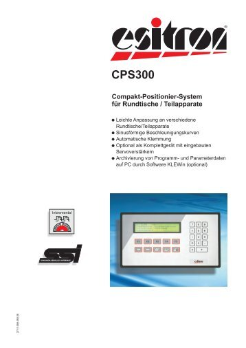CPS 300 Rundtische - esitron