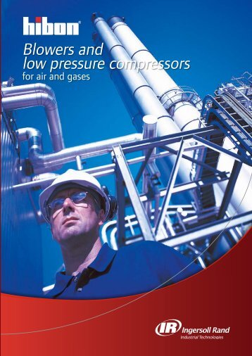 Blowers and low pressure compressors - Thermo King Western Inc.
