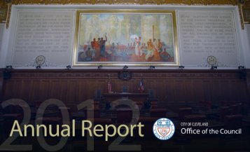2012 Annual Report - Cleveland City Council