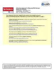 DOI: 10.1126/science.1122088 , 1054 (2006); 312 Science et al ...