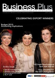 In this issue: CELEBRATING EXPORT WINNERS - EMA