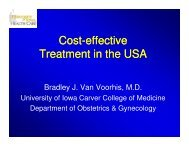 Cost-effectiveness of IUI versus IVF - eshre