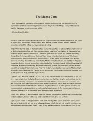 The Magna Carta - Blow the Trumpet