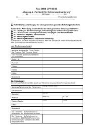 Fax: 0800 277 66 66 - Bundesverband Schimmelpilzsanierung eV