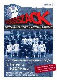 HGHB_2013-14 _HEFT_7.indd - Handballgemeinschaft Hamburg ...