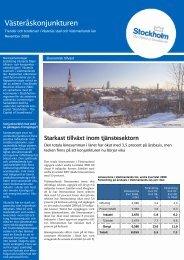 Västeråskonjunkturen 2008, nr 4 - Västerås stad