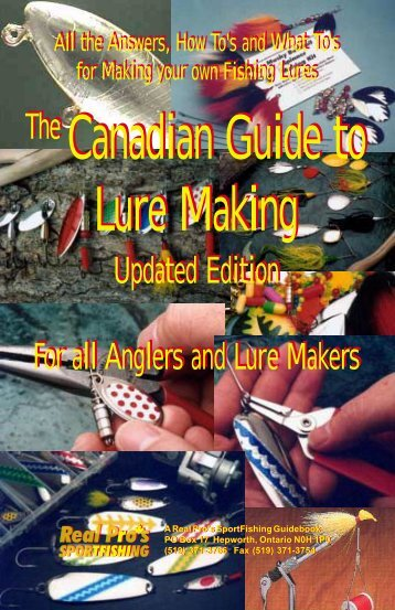 Canadian Guide to Lure Making - Who-sells-it.com