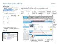 VIA Egencia Booking tool, VIA AeTM - VIA Travel