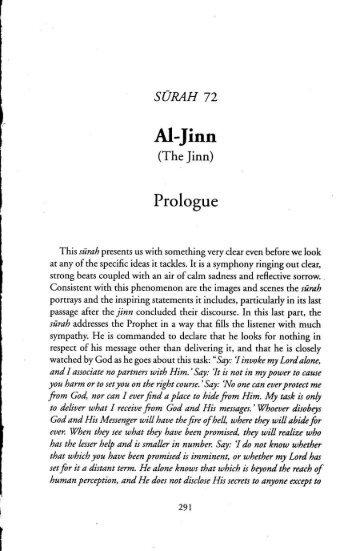 72) Al-Jin - TAFSIR FI ZILAL AL-QURAN