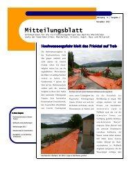 Mitteilungsblatt 2/13 - ZSO Unteres Fricktal