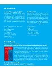 Programm - Kaspar Müller Consulting