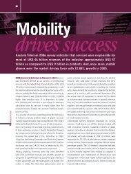 Anuário Telecom 2006 survey indicates that services were ...