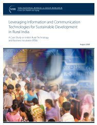 Leveraging Information and Communication Technologies for ...