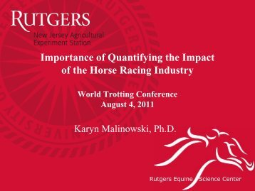 """""""Quantifying the Importance of the Industry ... - (ESC) at Rutgers"""