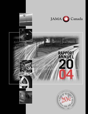ANNUEL - Japan Automobile Manufacturers Association of Canada