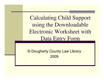 Wa State Child Support Worksheet - Synhoff