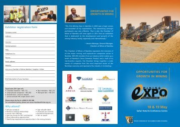 Brochure new 2 Z fold 2 fin3 - Chamber of Mines of Namibia
