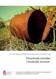 Förorenade områden i Sundsvalls kommun