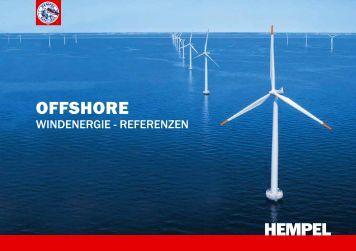 Offshore Windenergie - Referenzen - Hempel