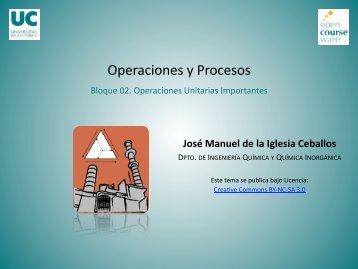 Operaciones y Procesos