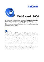 CAt-Award 2004 - Callcenter-Profi