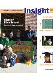 Vacation Bible School - Riverland Hills Baptist Church