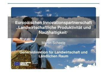 Landwirtschaftliche Produktivität und Nachhaltigkeit