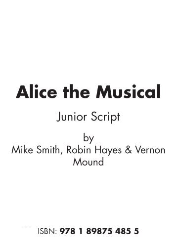 Script Alice Musical Junior.pdf - Musicline
