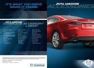 2014 Accessories Brochure - Mazda