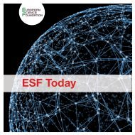 ESF Today - European Science Foundation