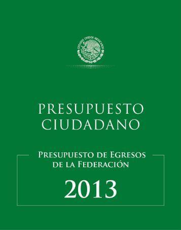 Presupuesto CIudadano 2013 Final