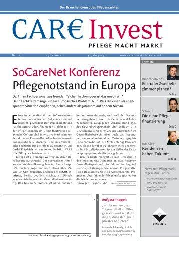 SoCareNet Konferenz - IEGUS • Institut für Europäische ...