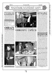 OBRAZY - Mariánskolázeňské listy