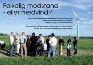 Folkelig modstand - eller medvind? - Danmarks Vindmølleforening