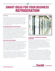 smart ideas for your business refrigeration - ComEd