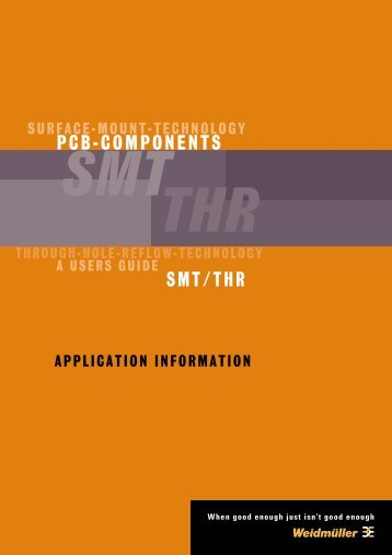 SMT/THR PCB-COMPONENTS