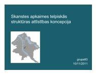 Prezentācija 1 - Rīgas domes Pilsētas attīstības departaments