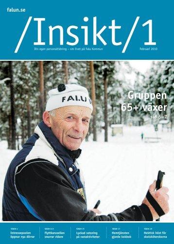 Insikt nr 1, 2010 (pdf 3,6 MB) - Falu Kommun