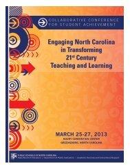 pdf, 2.2mb - Public Schools of North Carolina