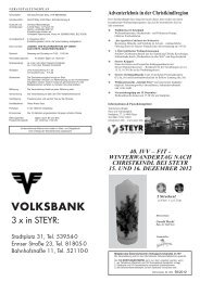 VOLKSBANK - Österreichischer Volkssportverband