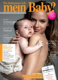 Bayern - Wo bekomme ich mein Baby?