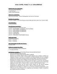 Travaux d'aménagement des Services Techniques. - Courcouronnes