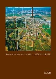 Sborník ze semináře AUÚP • BEROUN • 2009 - Ústav územního ...