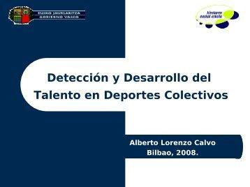 Detección talentos deportes colectivos